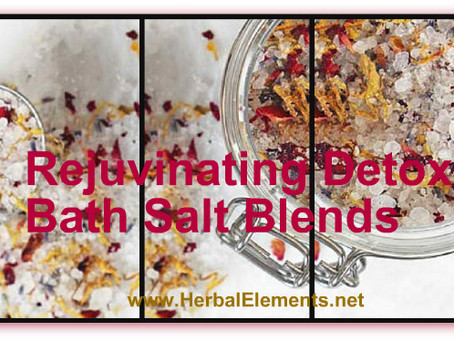 Rejuvenate with Detox Baths & Foot Soaks