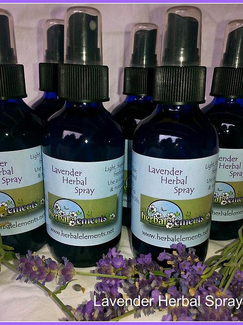 Lavender Herbal Spray 4oz