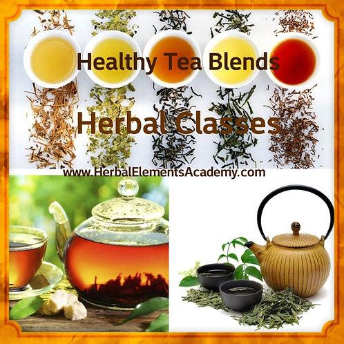 Healthy Teas & Tisanes