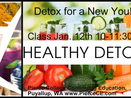 Detox for a New You- Try the Chakra Total Body Cleanse part 1-7