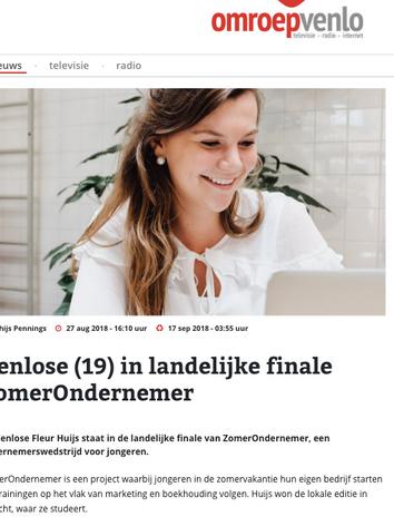 Omroep Venlo - Fleur Presents