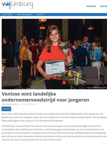 Wij Limburg - Fleur Presents