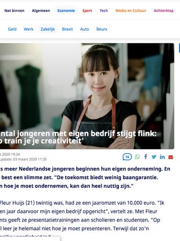 Nu.nl jong ondernemerschap