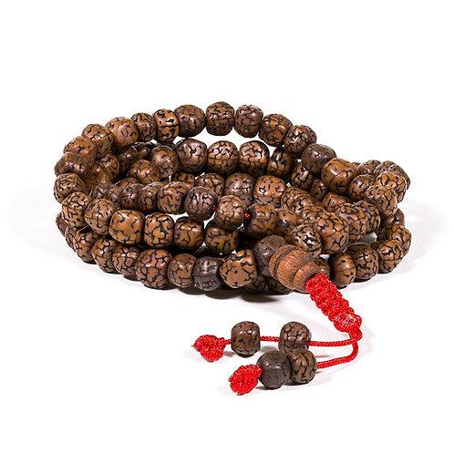 Mala Rudraksha Kralen 108 Perlen (Lord Shiva)