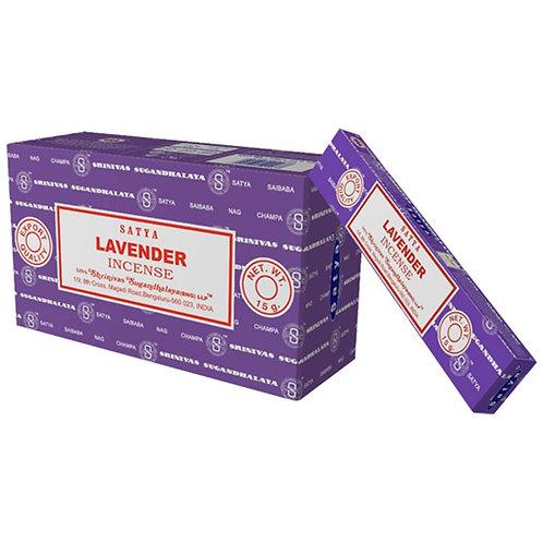 Räucherstäbchen Satya Lavender