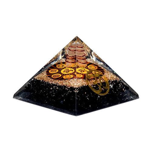 Orgonit Chakra Pyramide & Turmalin
