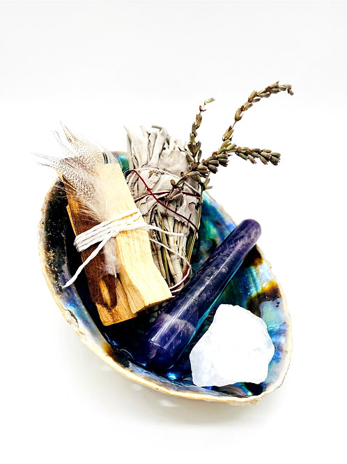 Smudge Kit *Abalone Healing*