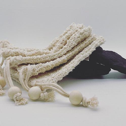 Natur Sisal Seifensäckchen