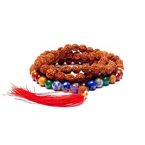 Mala 7 Chakras Rudraksha