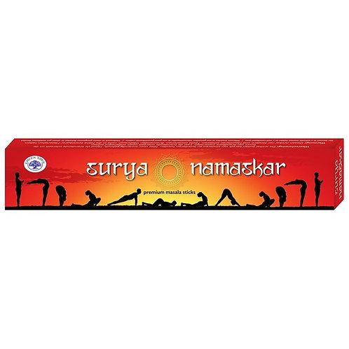 Räucherstäbchen *Surya Namaskar*