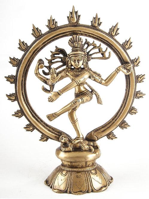 Shiva Nataraj 24cm Messing 1,15KG