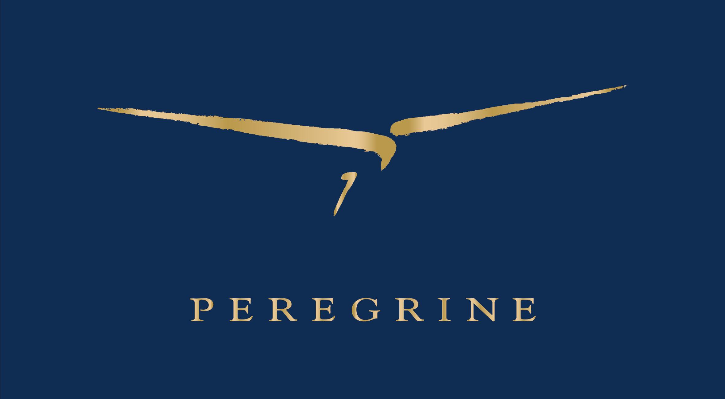 Peregrine Trade Mark logo_col Blue