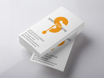 Business Cards for Organic Soup Company Founder