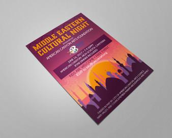 Cultural Night Flyer