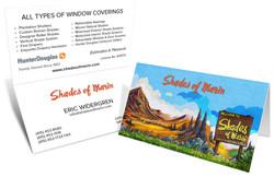 Shades of Marin Business Card