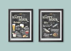 618 Bar menus