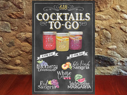Cocktail menu 618