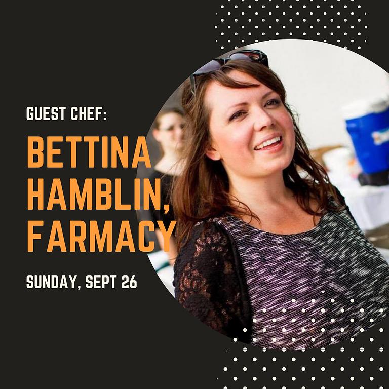 Summer Garden Dinner Series: Bettina Hamblin, Farmacy