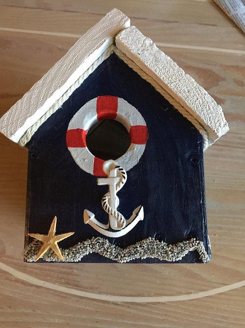 Nautical birdhouse