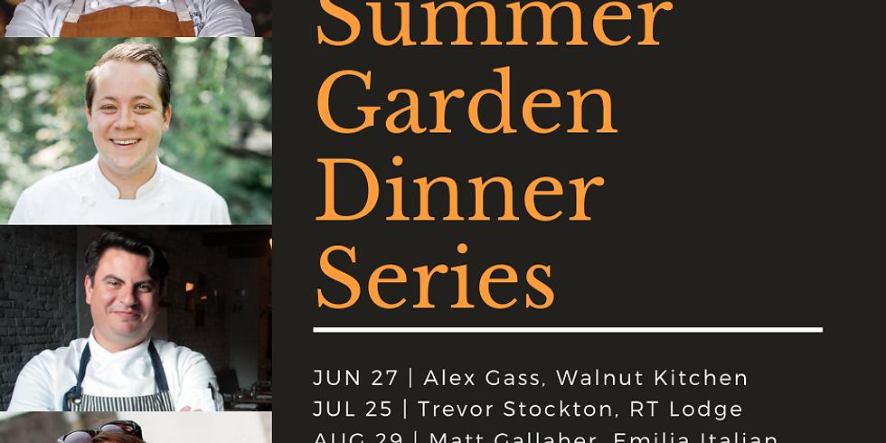 All 2021 Summer Garden Dinner Series Package