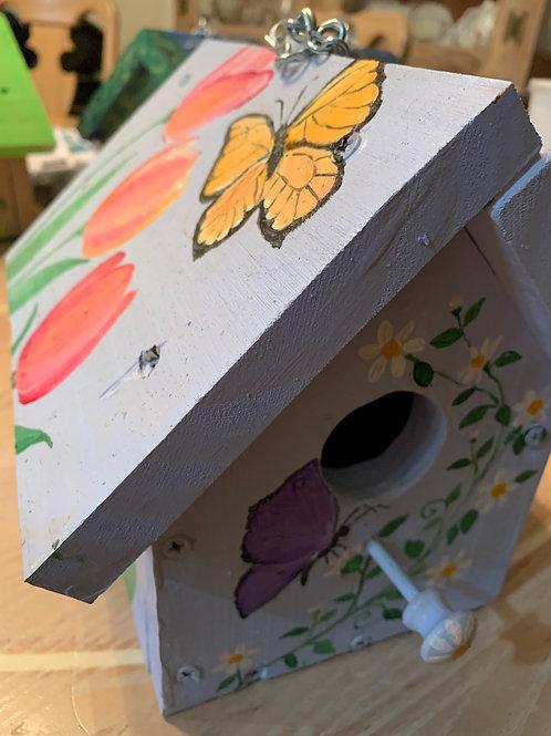 Butterfly birdhouse