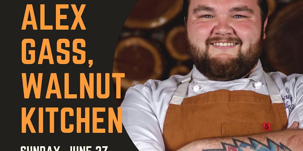 Summer Garden Dinner Series with Alex Gass, Walnut Kitchen