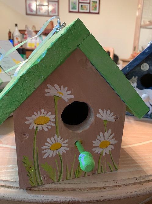 All the Daisies birdhouse