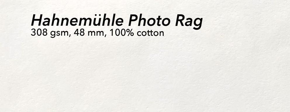 Hahnemühle Photo Rag