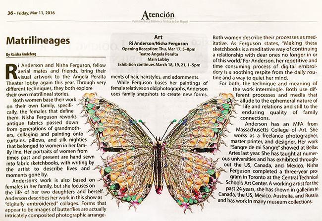 Article in Atención San Miguel