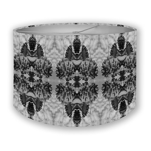 BW Nopales in the Sky Drum Lampshade