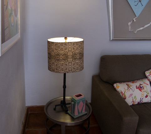 Commissioned lampshade