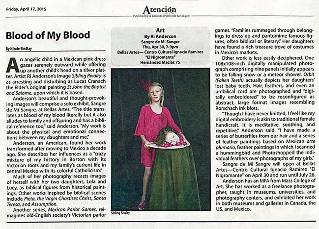 Nicole Findlay Article