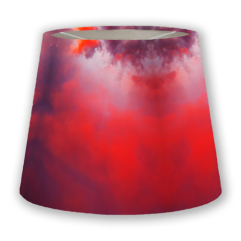 Red Sky Cone Lampshade