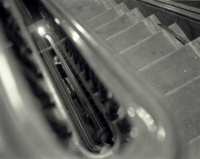 Kent Street Stairwell, Greenpoint, Brooklyn, New York