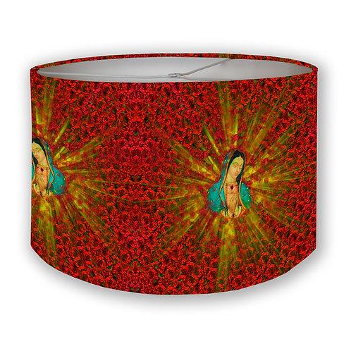 Guadalupe & Roses Drum Lampshade