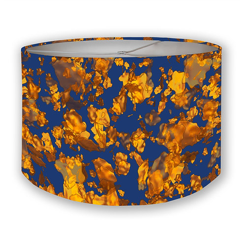 Gold Flakes 1 Drum Lampshade