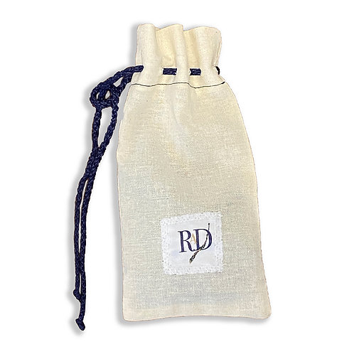 Mask Carrying Muslin Pouch