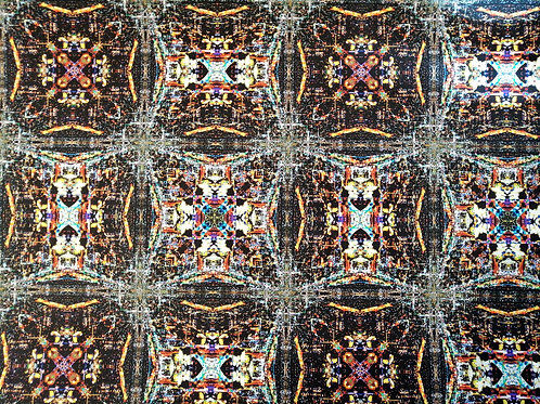 CDMX Night Kaleidoscope Display Model Wallcovering