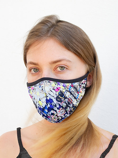 Sugar Skull Candy Sports Style Face Mask