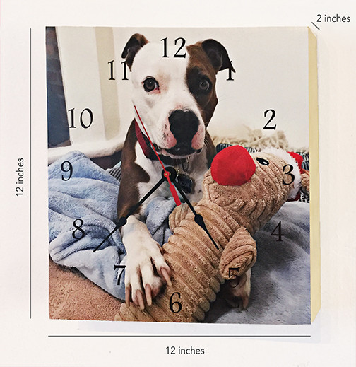 Example of a clock with your photo!