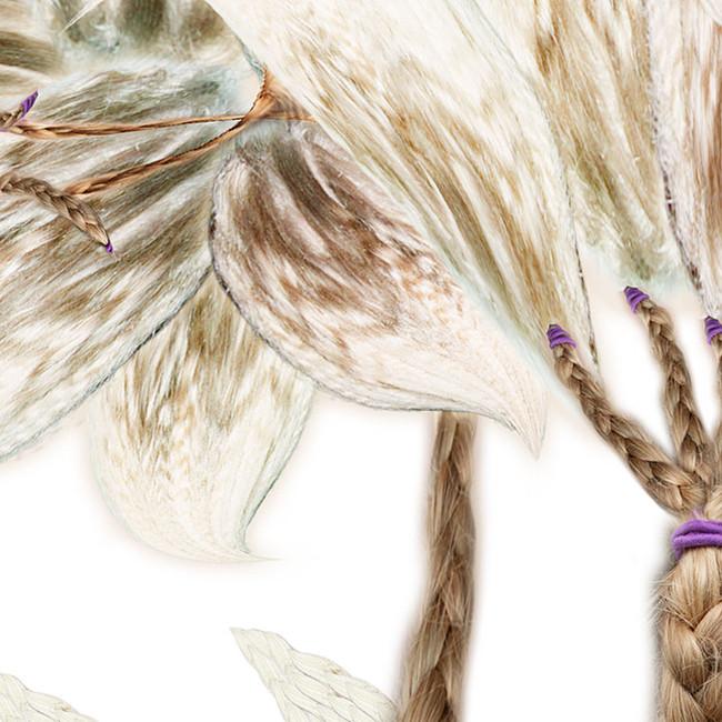 Detail, Lilies