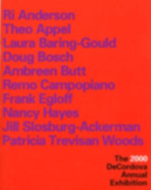 DeCordova Annual Exhibiton 2000 Ri Anderosn