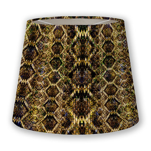 Gilded Scales Cone Lampshade