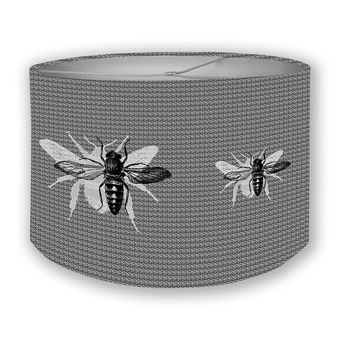 BW Bees Drum Lampshade