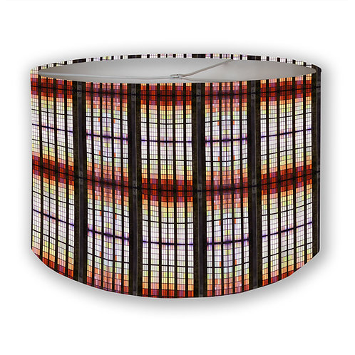 Stained Glass Drum Lampshade
