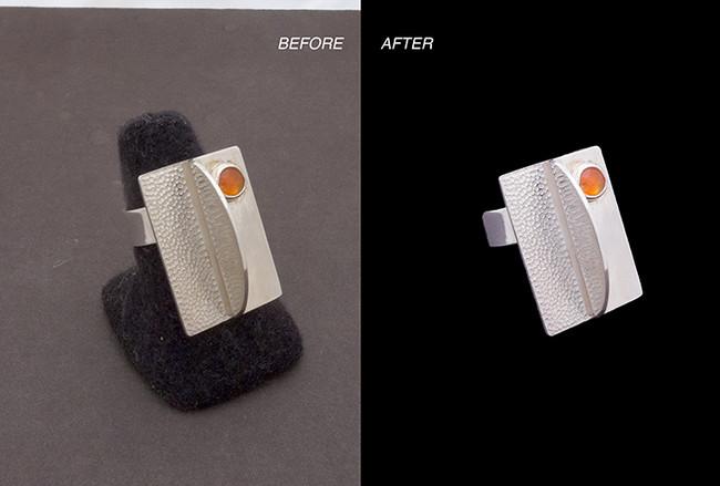 Product photography restoration