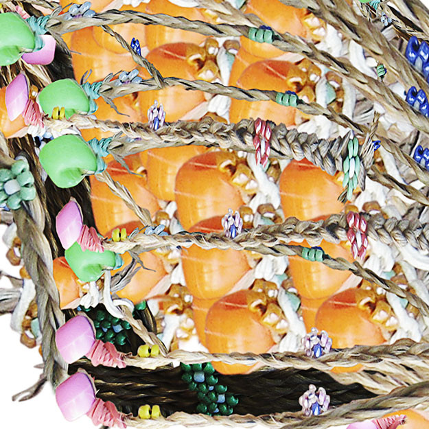 Detail, Beaded Monarch