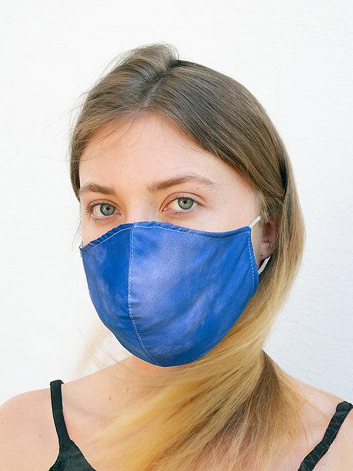 Blue Sky Silky Waterproof Style Face Mask