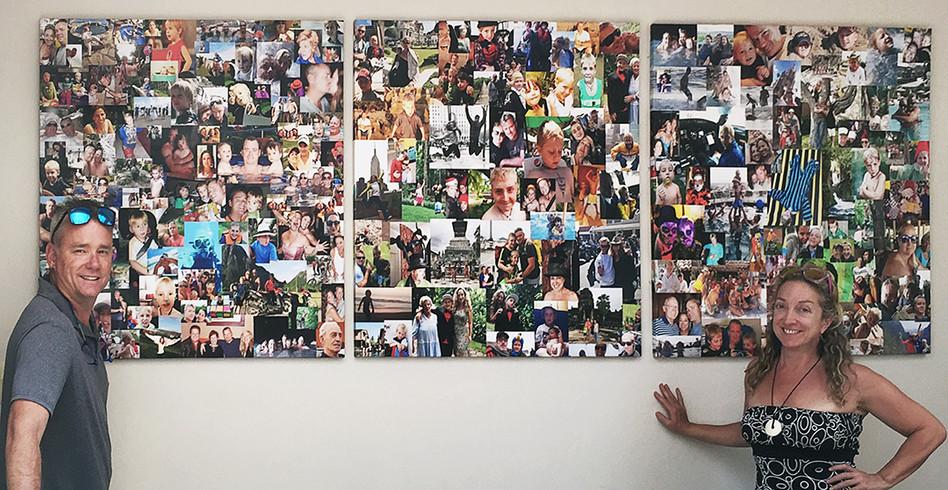 Family Portrait Wall