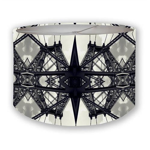Steel Bridge Drum Lampshade
